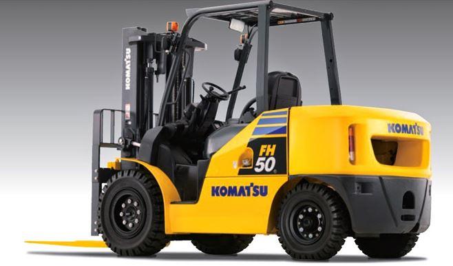 Cho thuê xe nâng Komatsu uy tín giá rẻ