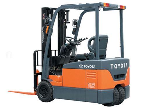 cho thuê xe nâng Toyota