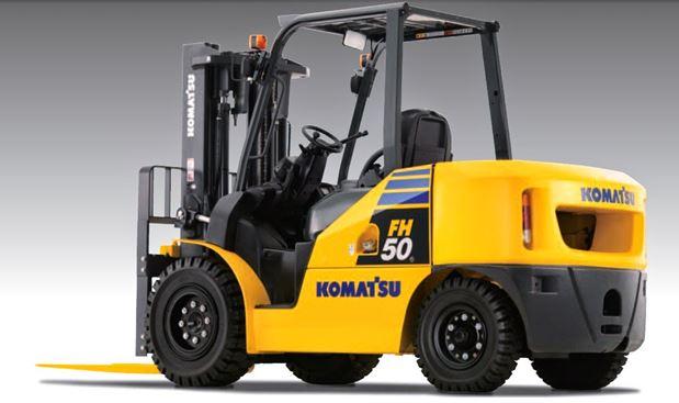 sửa xe nâng điện Komatsu